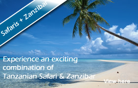Experience an exciting combination of Tanzanian Safari & Zanzibar